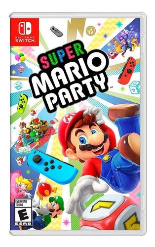 super mario party nintendo switch disponible