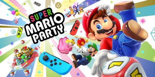 super mario party - nintendo switch en español entrega hoy