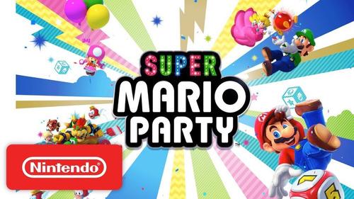 super mario party nintendo switch entrega ya en español