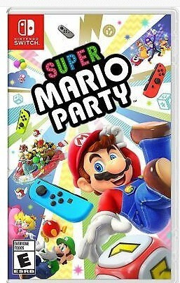 super mario party nintendo switch version en español