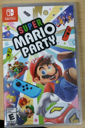 super mario party original switch - entrega inmediata