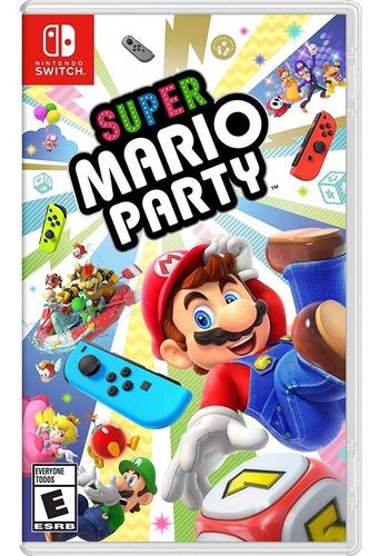super mario party - switch lacrado