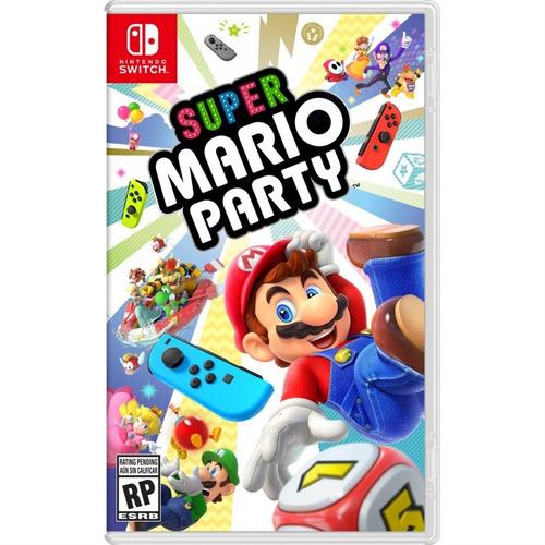 super mario party switch mídia física lacrado pronta entrega