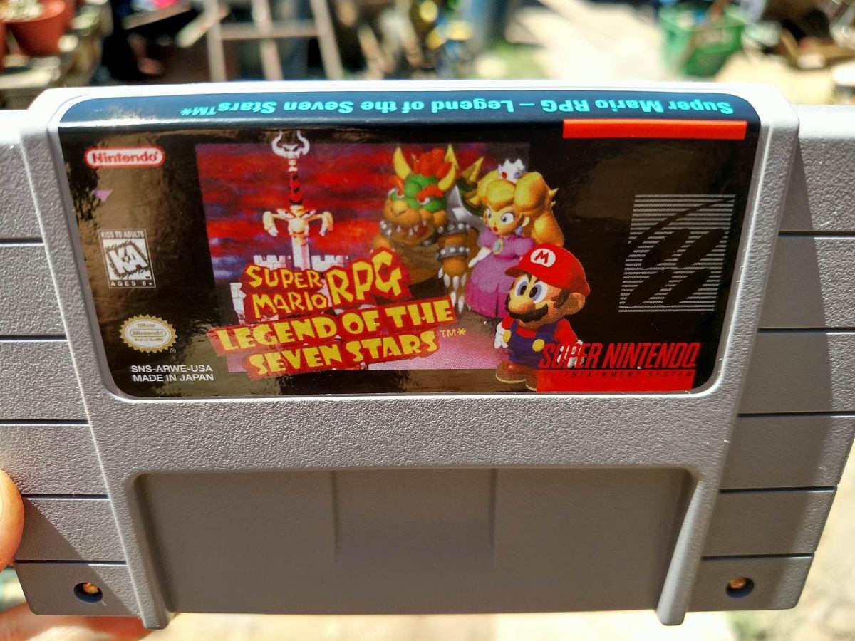 Super Mario Rpg Espanol Repro Super Nintendo Snes 25 000 En
