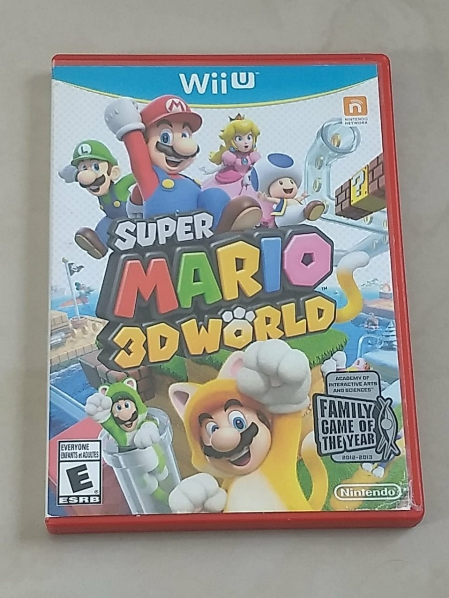 Super Mario 3d World Juego Wii U 550 00 En Mercado Libre