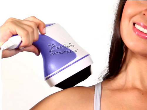 super masajeador electrico body tonifica relax pies 2500rpm