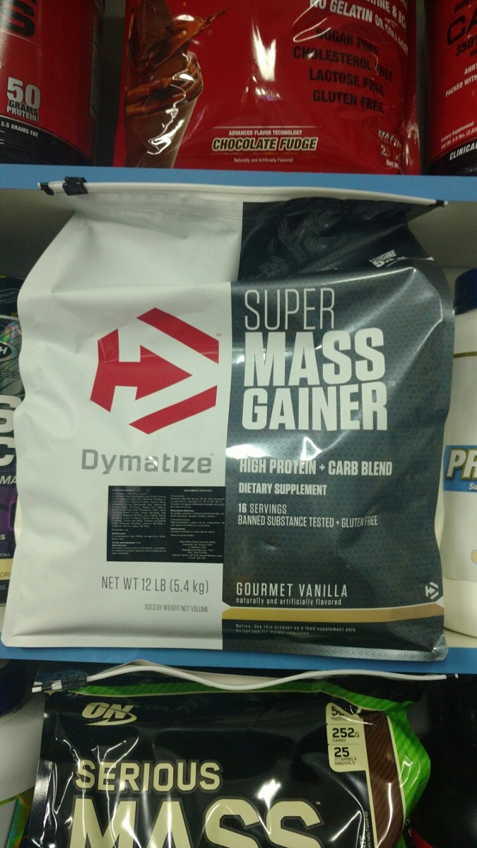 Super Mass Gainer 12 Lbs 235 Sole Oferta Delivery Gratis S 2350 Dymatize 2 Cargando Zoom