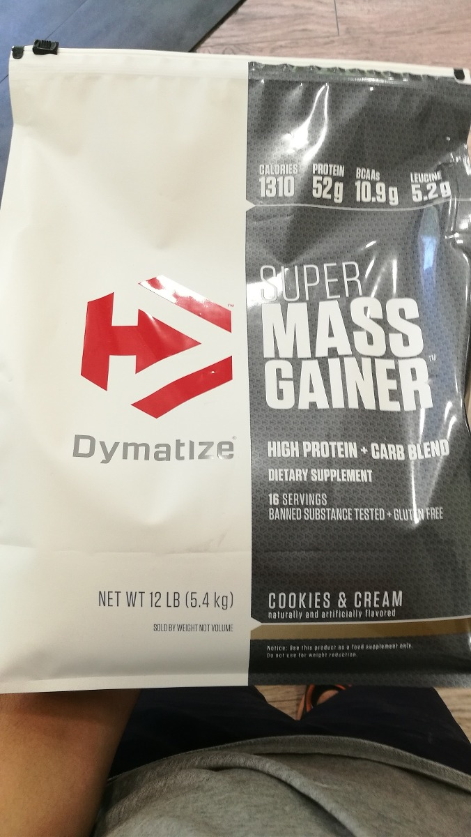Super Mass Gainer 12 Lbs Dymatize Envo Gratis Todo Chile Supermass 12lbsb Cargando Zoom