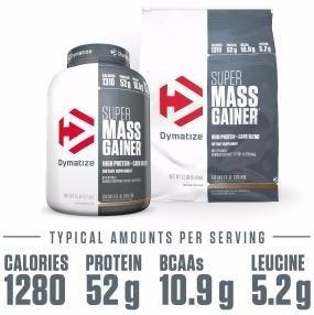 super mass gainer dymatize 6.00lbs ganador de peso y musculo