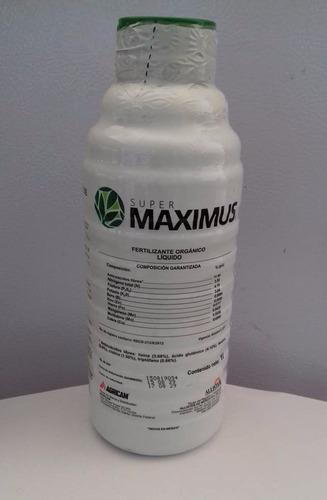 super maximus 1l  aminoacidos 11.96% organico anti stress