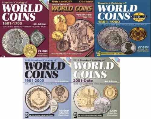 super mega pack catalogo monedas *cinco catalogos*