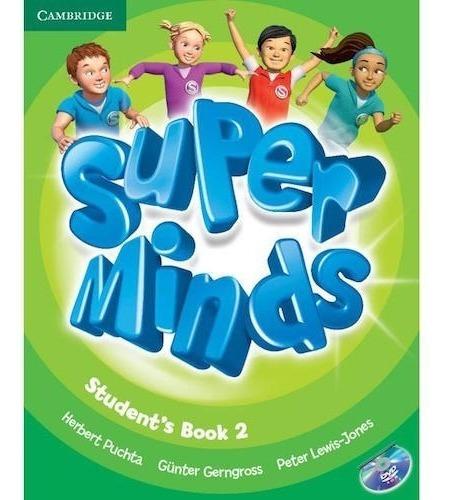 super minds 2 - student´s book and workbook + super grammar