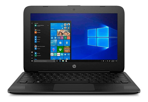 super mini laptop hp stream 11 intel n4000 4gb+32gb w10v1809