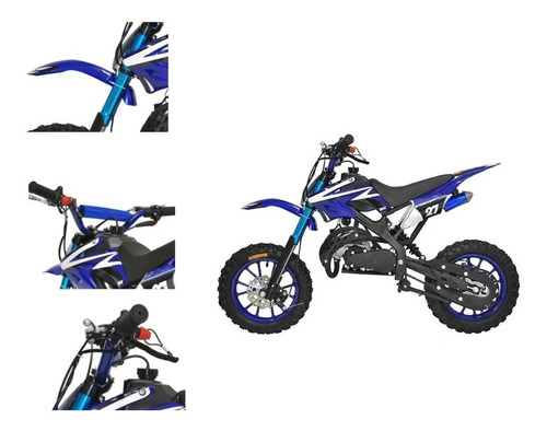 super mini moto cross 49cc - 0km c/ nota fiscal tork + dsr