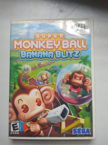 super monkey ball banana blitz nintendo wii