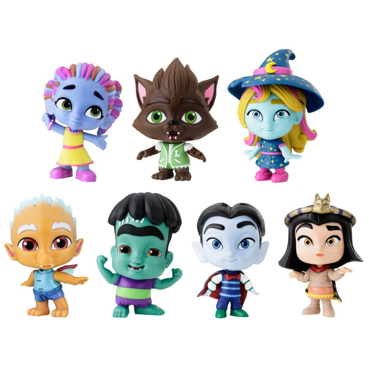 Super Monstros Monsters Cole 231 227 O Netflix Eua 7 Bonecos