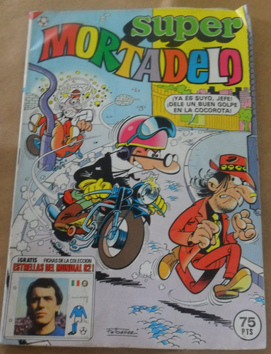 super mortadelo comic español - 1982 mundial