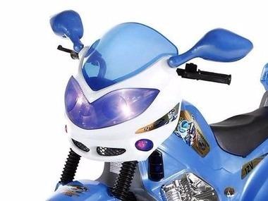 super moto elétrica 12v polícia c/ sons e luzes 1320- oferta