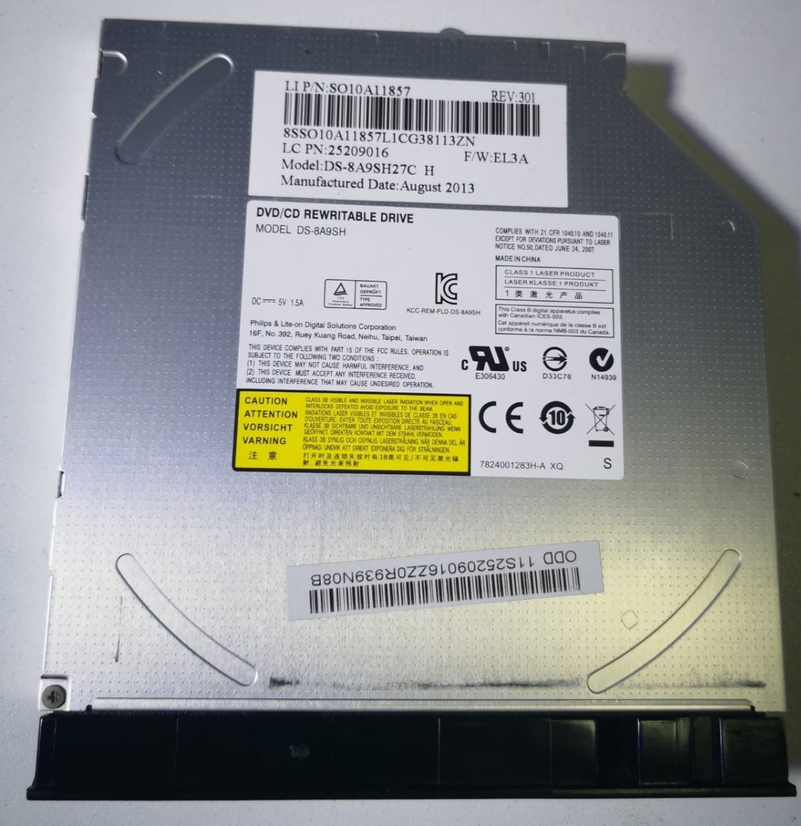 PLDS DVD -RW DS-8A9SH WINDOWS VISTA DRIVER