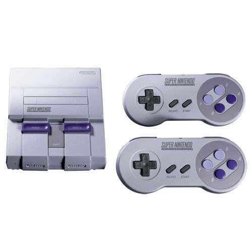 super nintendo classic edition gris