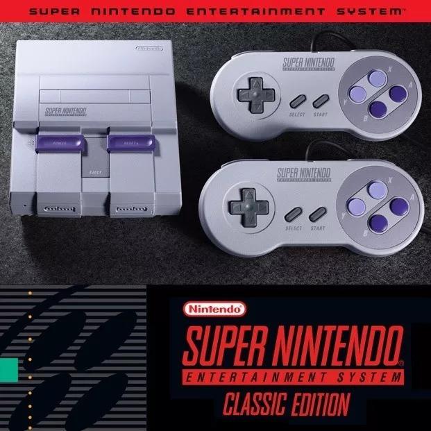 Super Nintendo Classic Mini 21 Juegos 2 Alargues Para Joys