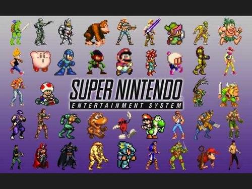 super nintendo emulador + catálogo de juegos completo
