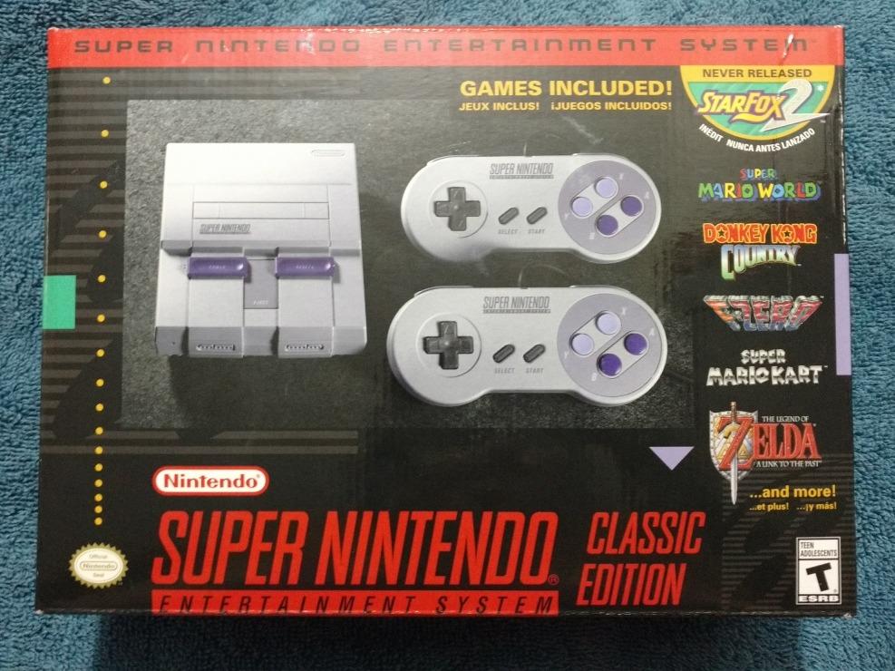 Super Nintendo Mini Snes Classic Edition A Tratar 3 500 00 En