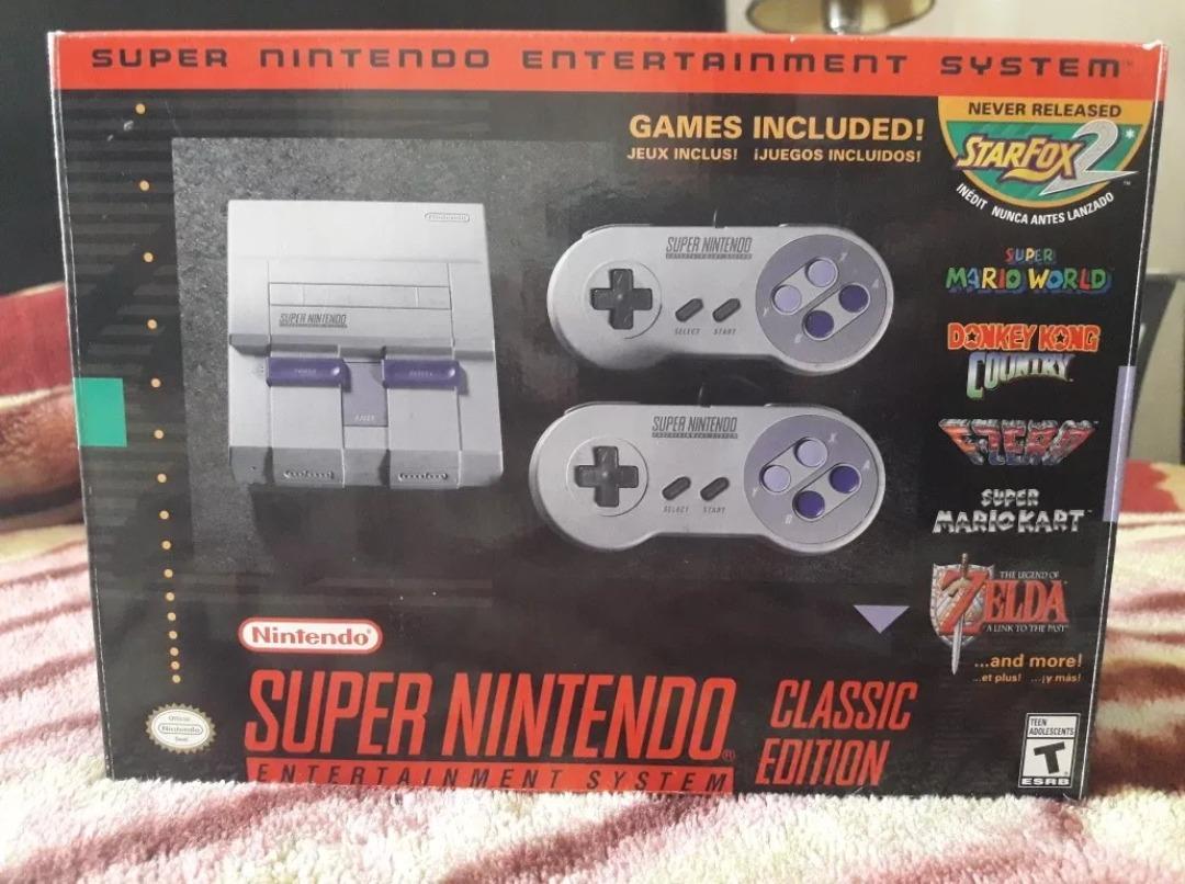 Super Nintendo Mini Snes Classic Edition Juegos Incluidos 3 700
