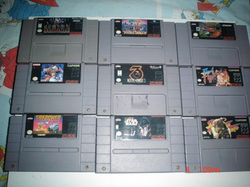 super nintendo mortal kombat 3 y star wars