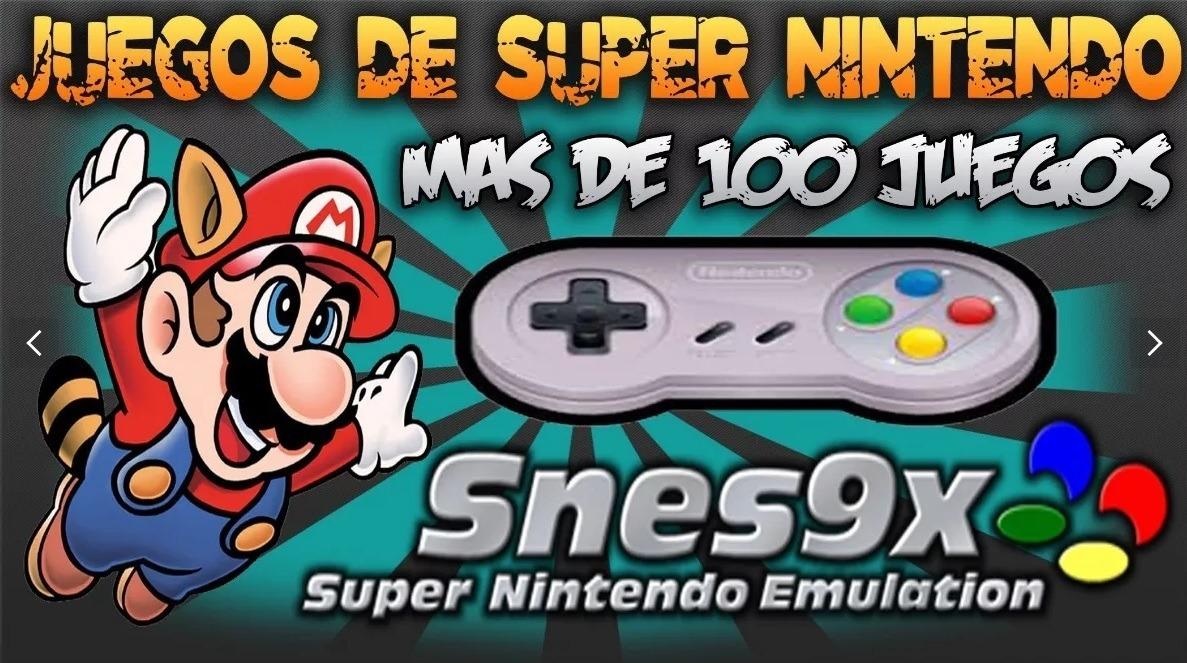 Super Nintendo Para Pc Emulador Con De 500 Juegos S 10 00 En