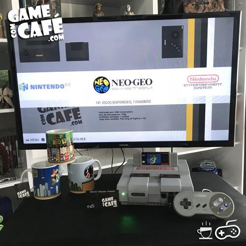 super nintendo retro multijogos + de 7500 jogos (recalbox)