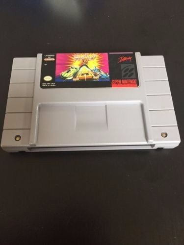 super nintendo - snes, rock n' roll racing