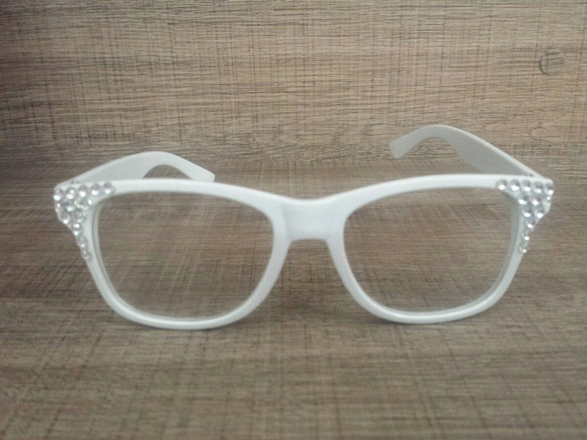 cd40d08018553 Super Novidade! 1 Óculos Branco Larissa Manoela Sbt Cúmplice - R  49 ...