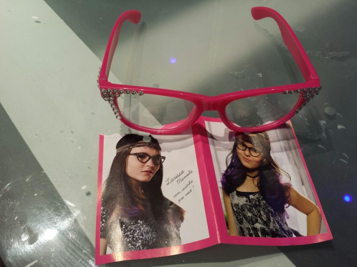 c09b37db47521 Super Novidade! 1 Óculos Larissa Manoela Sbt Cúmplice De Um - R  69 ...