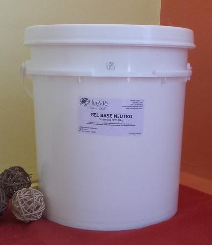super oferta!! 10k gel base neutro para ultrasonido