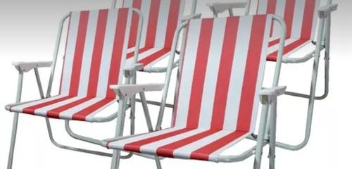 super oferta 2 unidades. silla playa.jardin.camping.casa