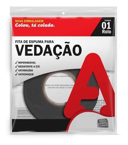 super oferta burlete de espuma 12 mm x 5 metros ind brasil