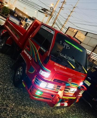 super oferta camion daihatsu delta 1995 volteoo 100% new