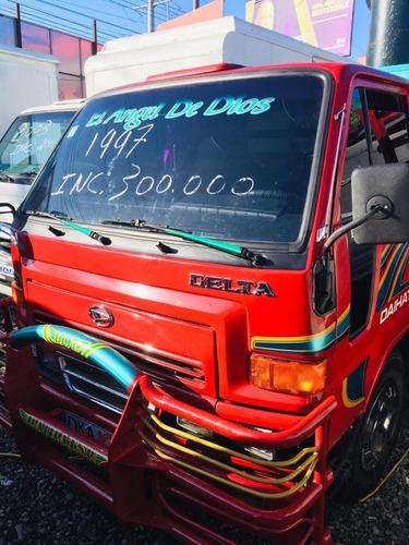 super oferta camion daihatsu delta 1997 cama cortta 100%