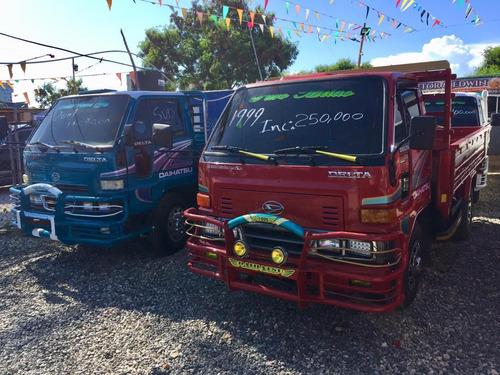 super oferta camion daihatsu delta 2001 cama corta