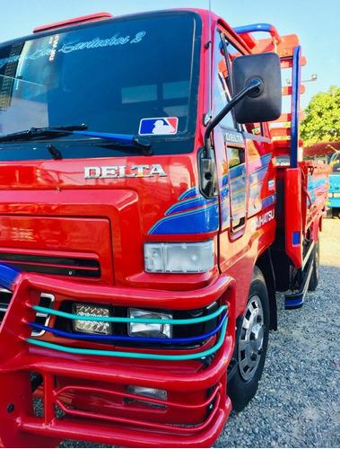 super oferta camion daihatsu delta 2002 cama cortta 100%full