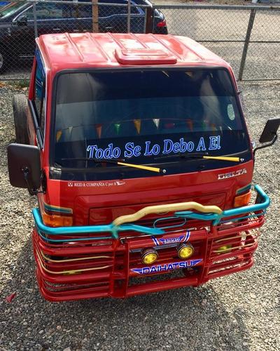 super oferta camion daihatsu delta 2003 cama cortta chasis