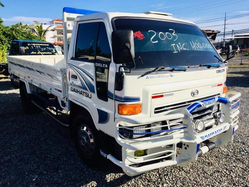 super oferta camion daihatsu delta 2003 cama larga 100% new