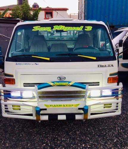 super oferta camion daihatsu delta 2007 cama larga full new