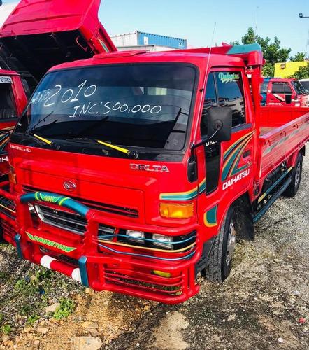 super oferta camion daihatsu delta 2010 cama larga 100% new