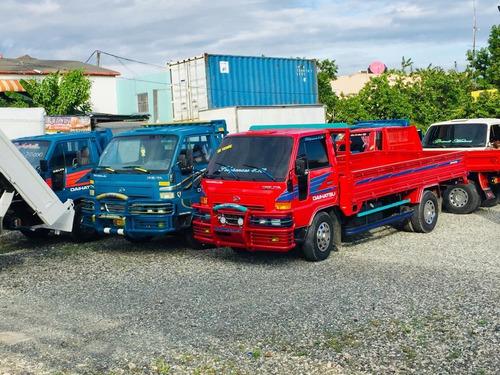 super oferta de camiones daihatsu delta largos y cortos full