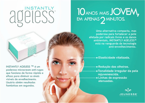 super oferta!! instantly ageless caja x 50