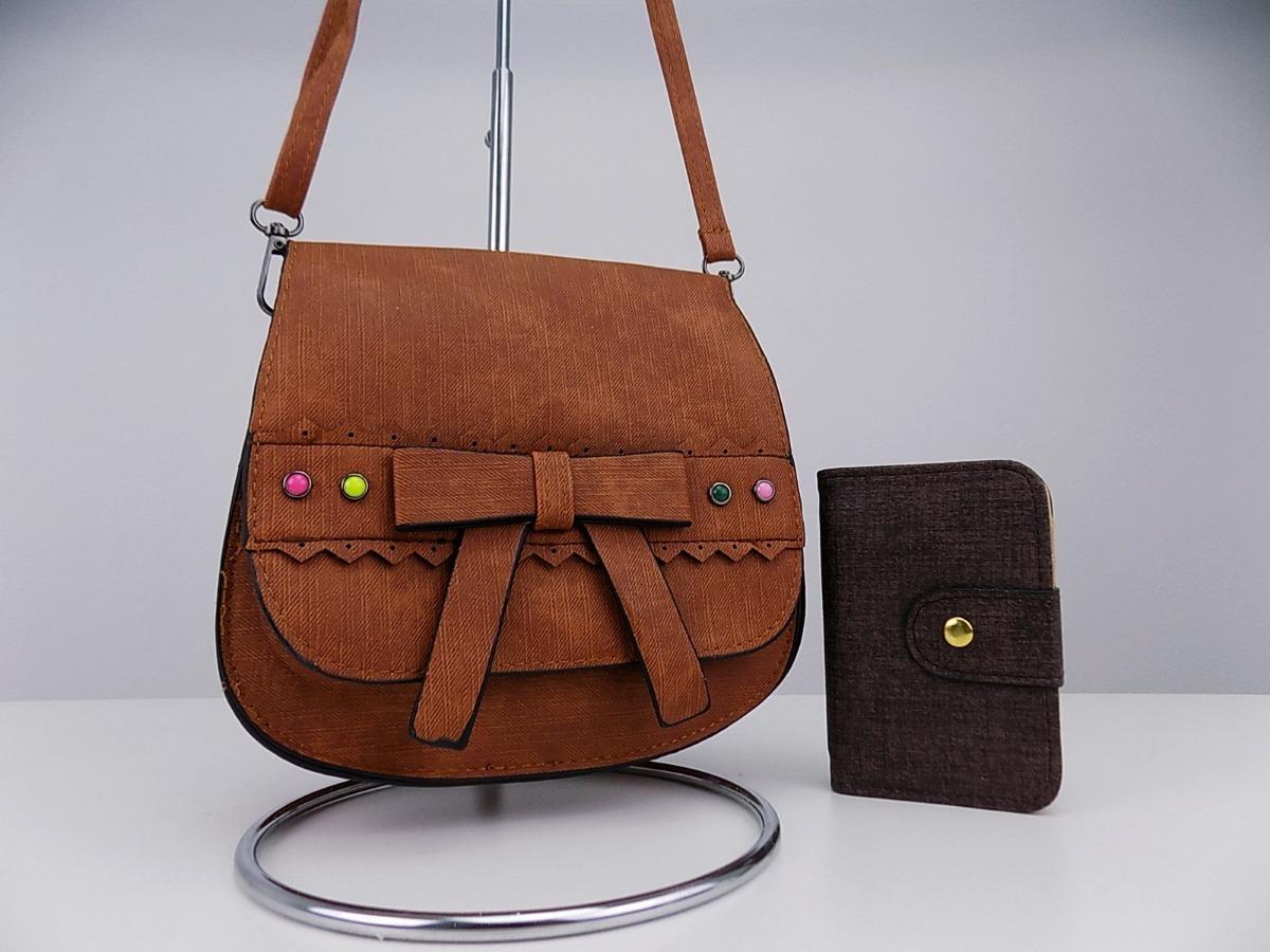 e98a8c8e6 super oferta kit feminina bolsa tiracolo + carteira promoção. Carregando  zoom.
