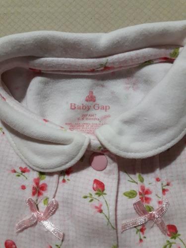 super oferta monitos pijama de bebé niña talla 0-6 meses