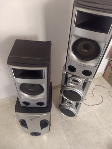 super oferta parlantes sony + 2panasonic